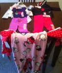 Clothes for the girls